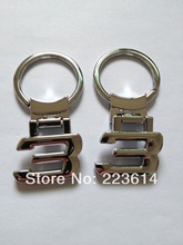 Wholesale Metal Logo Keychain For BMW 3 Series Letter Key Ring For BMW Free Shipping