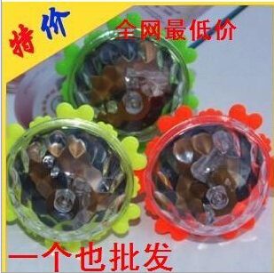 Attractive Blue Beyblade spinning top toy musical peg-top novelty fusion flash led electric ufo Various angles of rotation(China (Mainland))