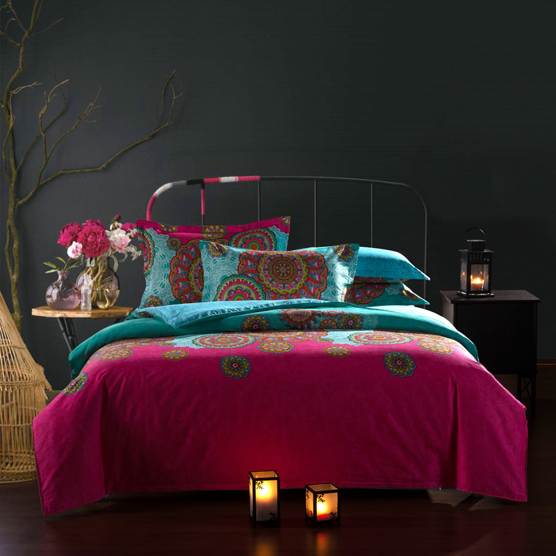 2015 Sale forter Luxury Bedding Set 4pcs Bedclothes Bed