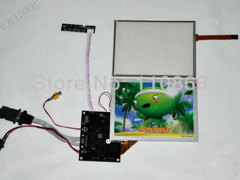 New 8 AUO A080SN01 V0 LCD Screen Panel Module +KYV N2 V1 Controller Board 800x600+Touch panel<br><br>Aliexpress