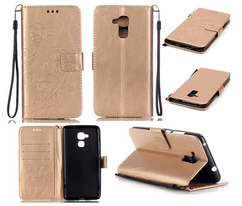 Huawei Honor 7 Lite Case 3D Embossing Flower PU Leather GT3/Honor 5C/7Lite Flip Wallet Cover Card Slot  -  Shenzhen Inpet Technology Co., LTD store