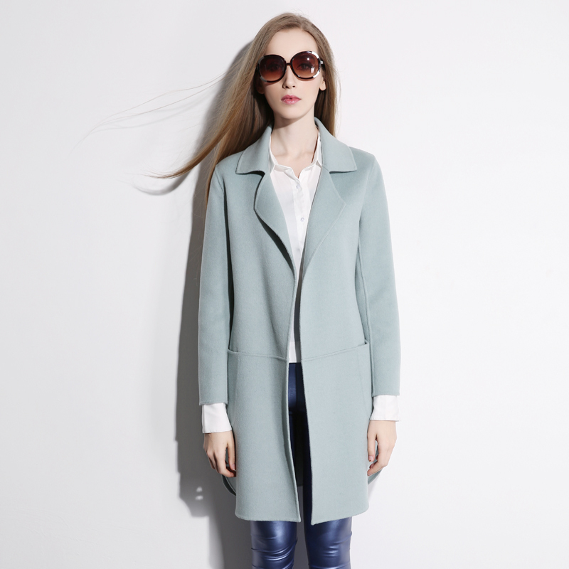 100 Cashmere Coat Womens | Down Coat