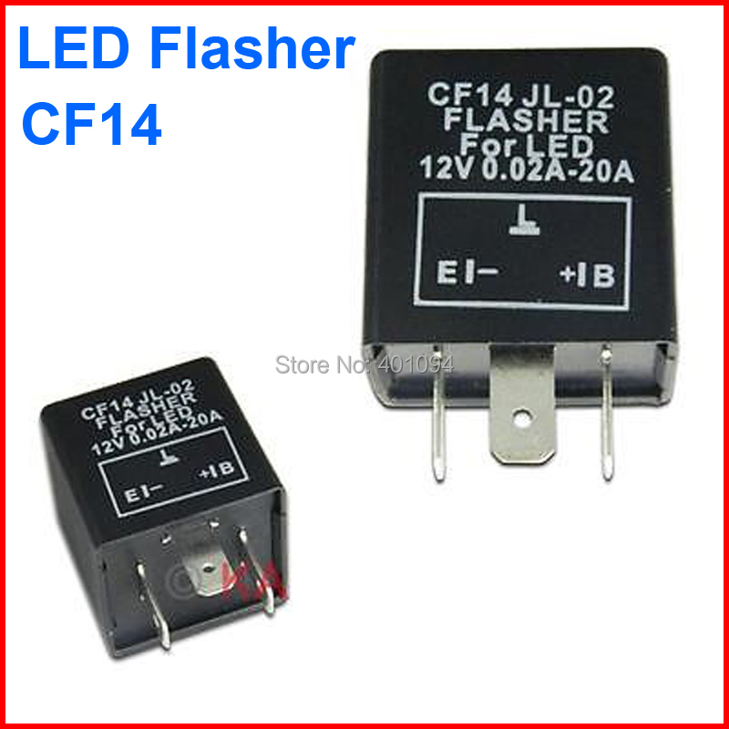 cf14 kt led flasher adjustable color 3 pin electronic relay module 3 Prong Led Flasher Schematic faq about cf13 and cf14 flasher Random LED Flasher Circuit