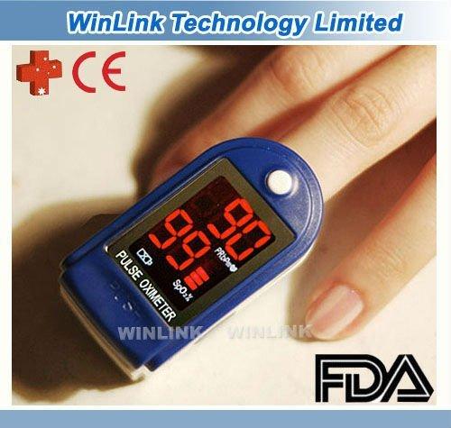 Heart Rate Monitor SPO2 Monitor Pulse Oximeter CE FDA  Free Shipping