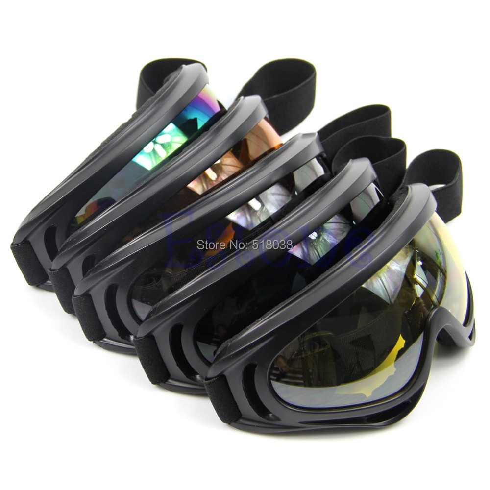 A25 hot-selling newest HOT Motorcycle Dustproof Sunglasses Ski Snowboard Goggles Lens Frame Eye Glasses Free Shipping(China (Mainland))