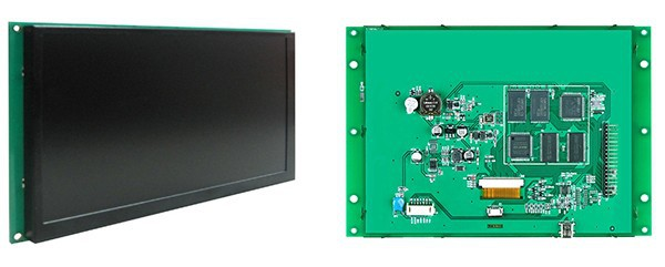 7 TFT LCD monitor module display RS485 interface with touchscreen for Industrial area(China (Mainland))