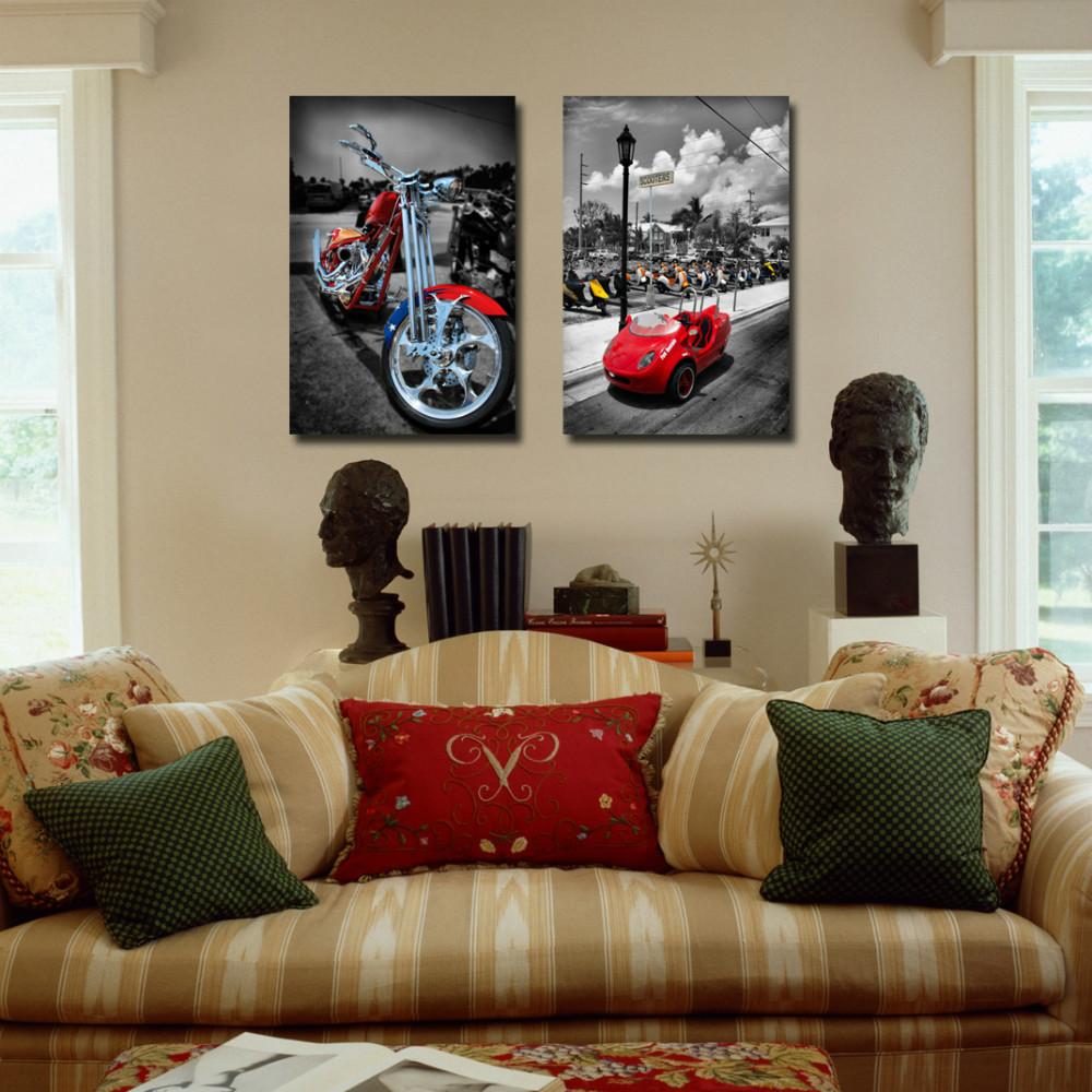 Peinture sur toile bon marché promotion achetez des peinture sur ...