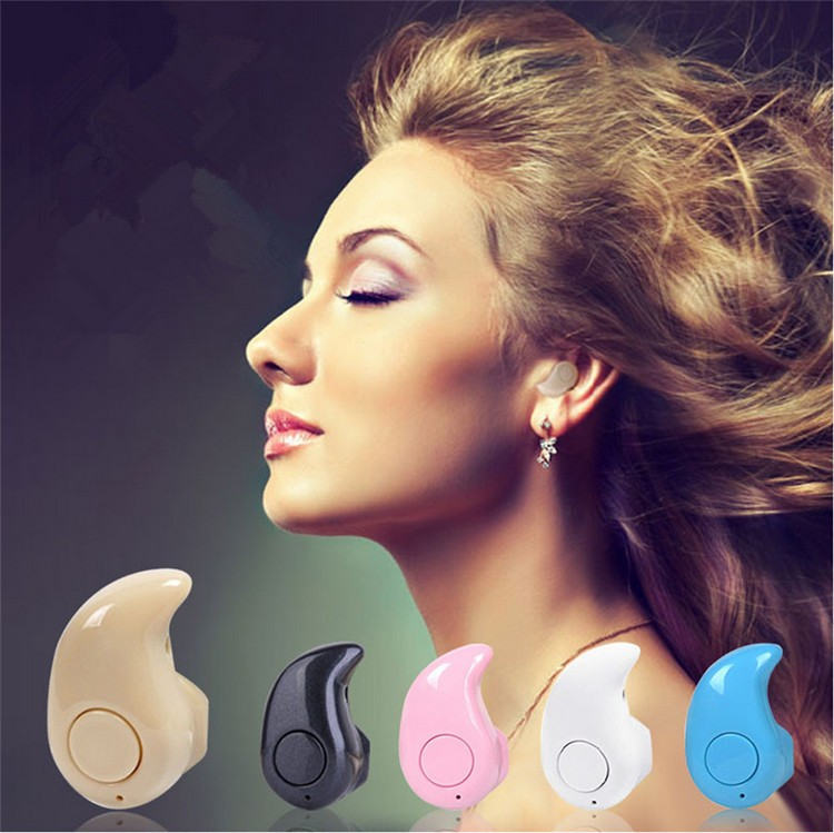 Mini Wireless  Bluetooth Headset Ultra small Earphone with Microphone  Safe Driving Invisible Design S530