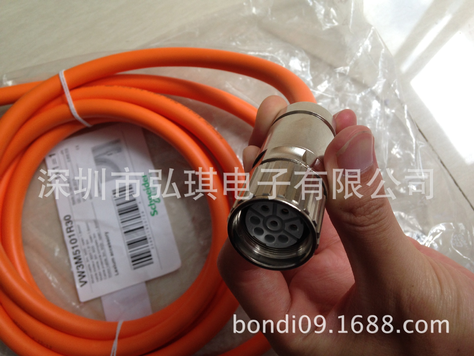 Schneider VW3E5001S018, Sercos III 0.18m, communication cable, original spot<br><br>Aliexpress
