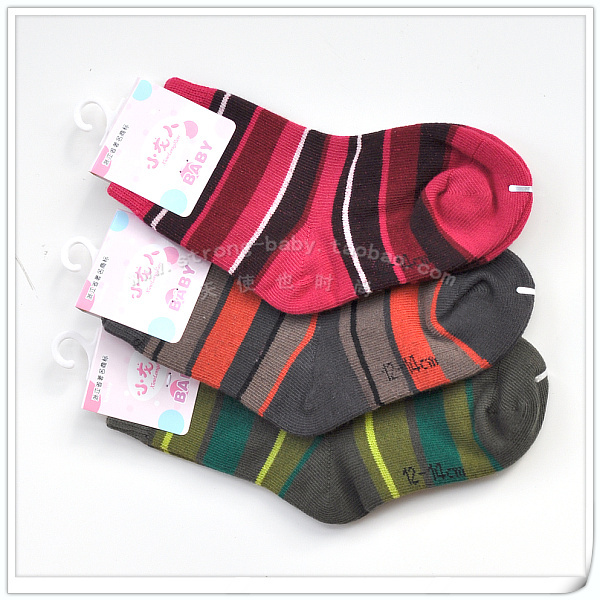 100% kid's socks cotton baby socks child 100% cotton socks infant soft comfortable socks 2 - 5