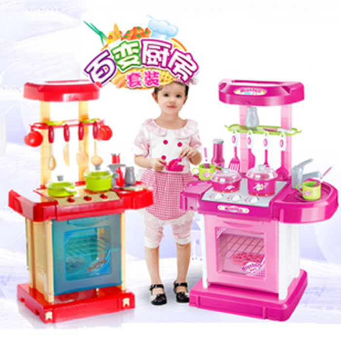 Hot selling 2013 new arrival children classic pretend play for Cheap kids kitchen set