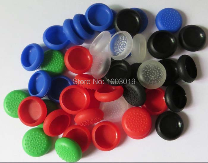 NEW Protective TPU Thumb Stick Grip Cap For Xbox one Controller Wireless For wii Nunchuck Controller(China (Mainland))