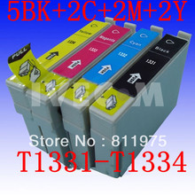 Buy 11 pcs Free FOR Epson T1331 T1332 T1333 T1334 compatible ink cartridge EPSON Stylus N11 NX125 NX420 TX420W Printer for $22.00 in AliExpress store