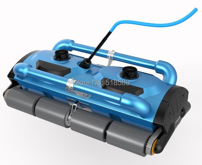 Robotic pool cleaner icleaner-200D with 40m Cable,swimming pool robot cleaner cleaning equipment with caddy cart and CE ROHS SGS(China (Mainland))