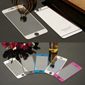 Colorful Tempered Glass Film For iphone 4 4s 5 5s 6 6s 6Plus Screen Protector Metal