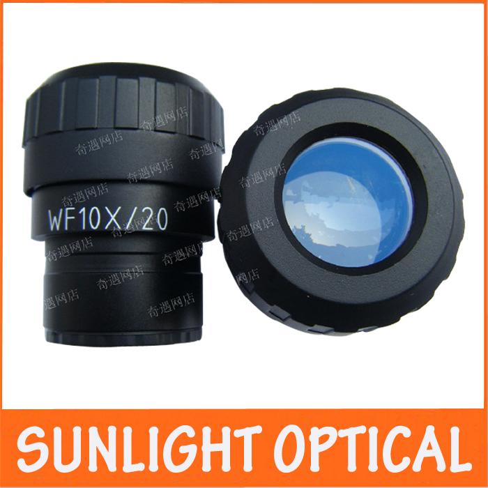 Здесь можно купить  WF10X/20mm Adjustable Zoom Wide Angle Optical Eyepiece Lens Stereo Microscope with Mounting Size 30mm for School Laboratory  Инструменты