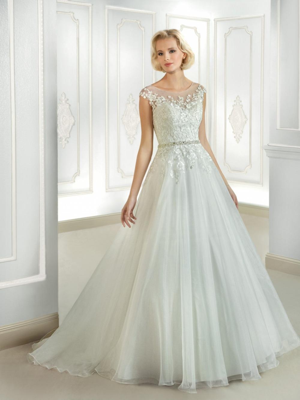 Vestido de noiva ball gown wedding dress see through back for See through wedding dresses