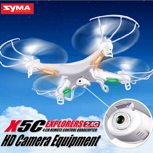 2014 New Version Syma X5c 2.4G 6 Axis GYRO HD Camera RC Quadcopter RTF RC