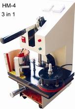 Universal Printer, L300*W300mm, Print Any Thing, Usage Video, Digital, 3 in 1 Heat Press Machine, QA