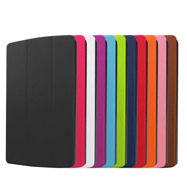 Hot Sale 3-folding stand PU leather Magnetic smart cover case for LG Gpad X 8.3 inch + stylus Free Shipping(China (Mainland))