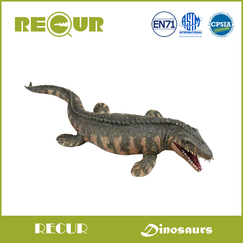 Recur Original Design Jurassic Park World Dinosaur Model High Quality PVC Hand Painted Soft Figures Toys Gift Collection For Boy(China (Mainland))