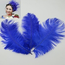 20pcs Ostrich Feathers Trim Sewing Costume