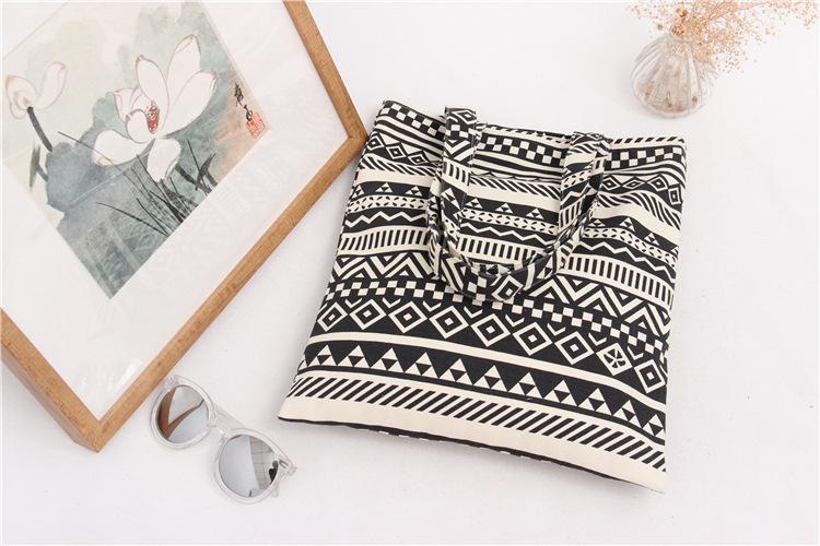 Handmade Cotton Cloth Hobo Handbag Shoulder Tote Bags for Women & Girl (1)