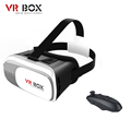 VR BOX 2 0 HeadMount Suit3 5 6 0Inch Phone VR Virtual 3D Glasses Wireless Bluetooth