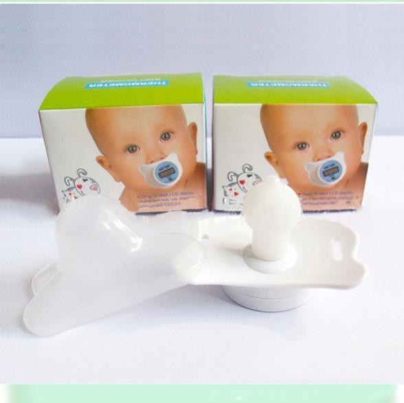 Practical Baby Infants LCD Digital Mouth Nipple Pacifier Thermometer
