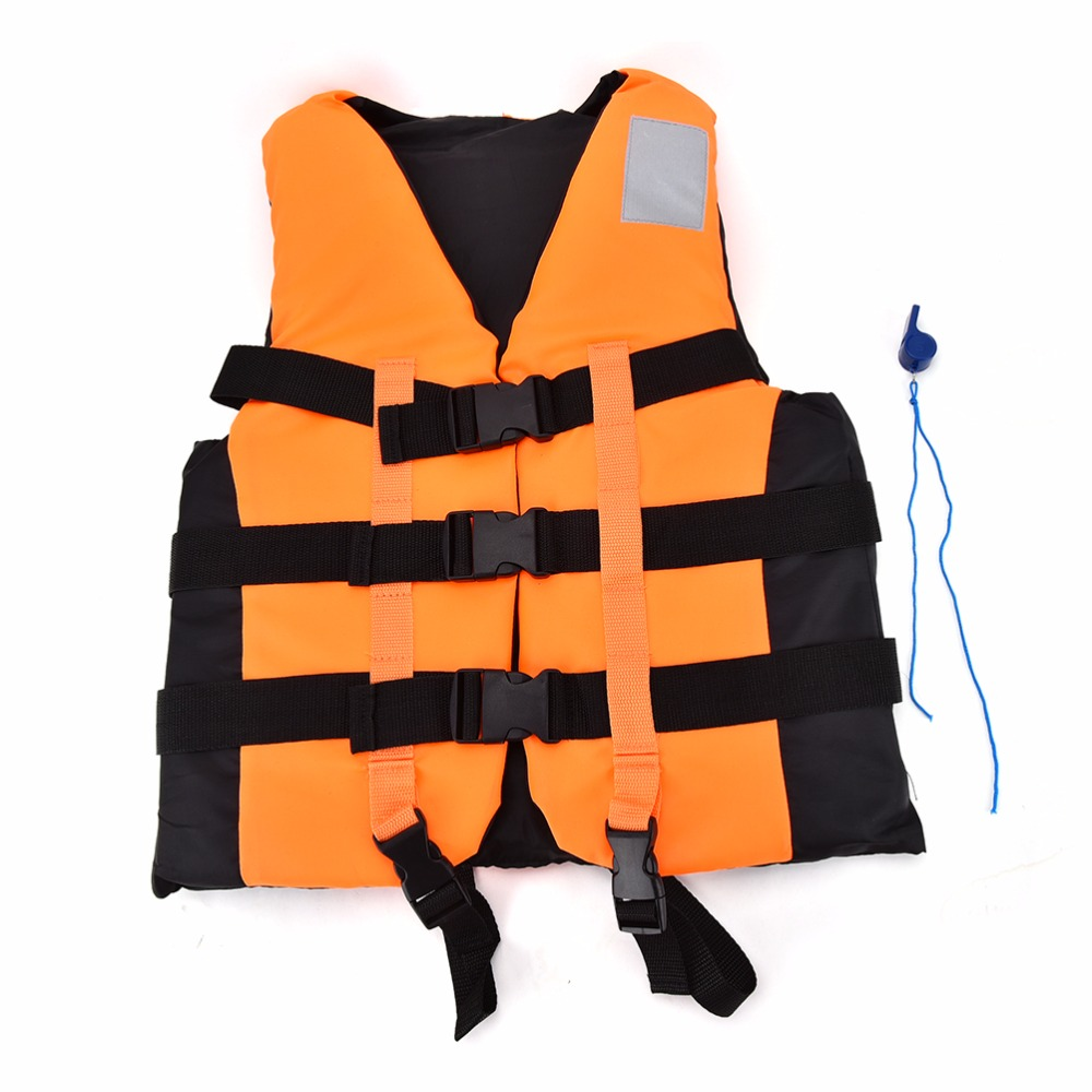 Polyester Adult Life Vest Jacket Universal Swimming Boating Ski Drifting Foam Vest with Whistle Prevention S-XXL Sizes(China (Mainland))