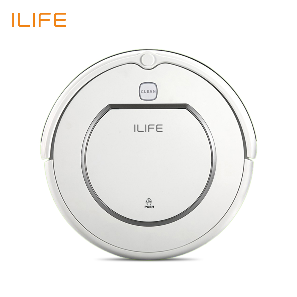 ILIFE V1 Robot Vacuum cleaner, 500Pa Power Suction, Automatic Intelligence Sweeper, Cliff Sensor Efficient HEPA Cleaning(China (Mainland))