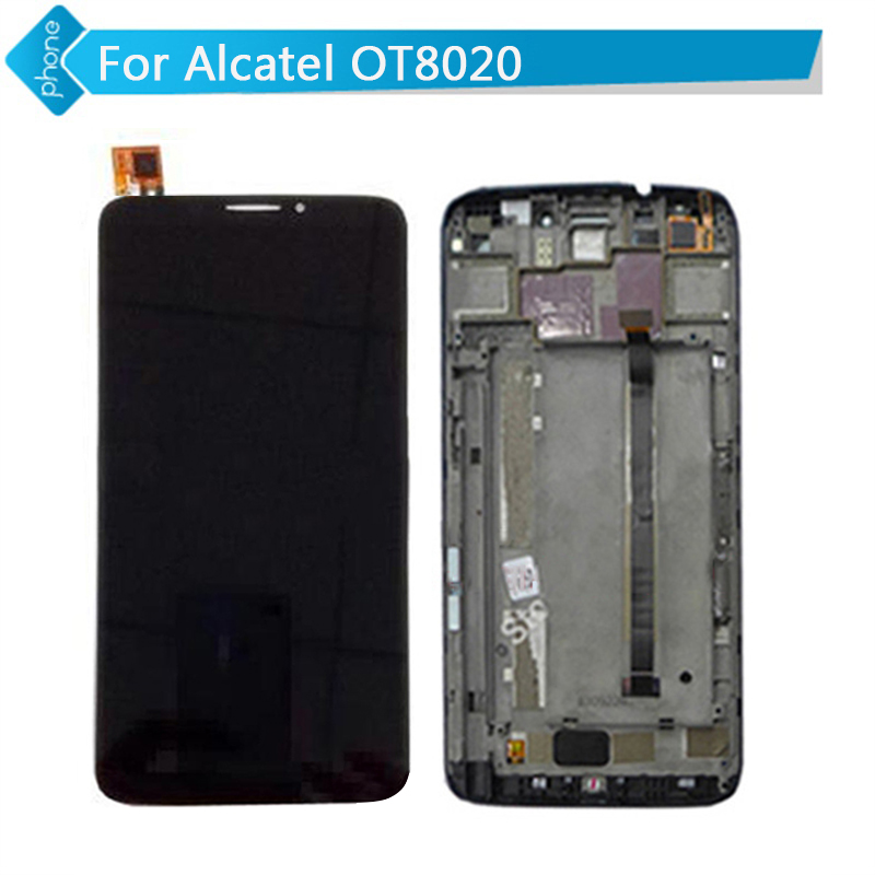 Original for Alcatel One Touch Hero 8020 8020D OT8020 LCD Display with Digitizer Touch Screen frame Assembly hot selling