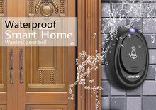 Wireless Smart Doorbell EU Plug forecum 6 1 Remote Control 1 Receiver 36 Chimes Songs door bell AH027