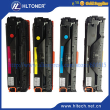 brand new CF210X CF211A CF212A CF213A color Toner Cartridge compatible HP LaserJet 200 colorMFPM276n/M276nw/M251n 4PCS/LOT(China (Mainland))