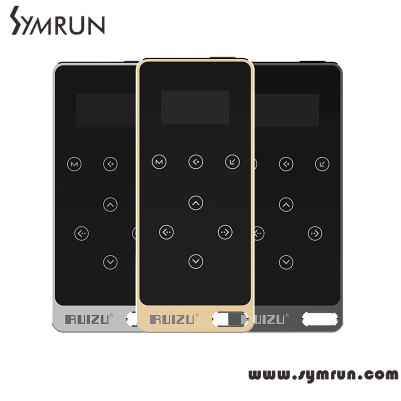 Symrun sport mp3 music player with 8GB Ultrathin Metal Touch button With 1.1 Inch Screen Music Box MP3(China (Mainland))