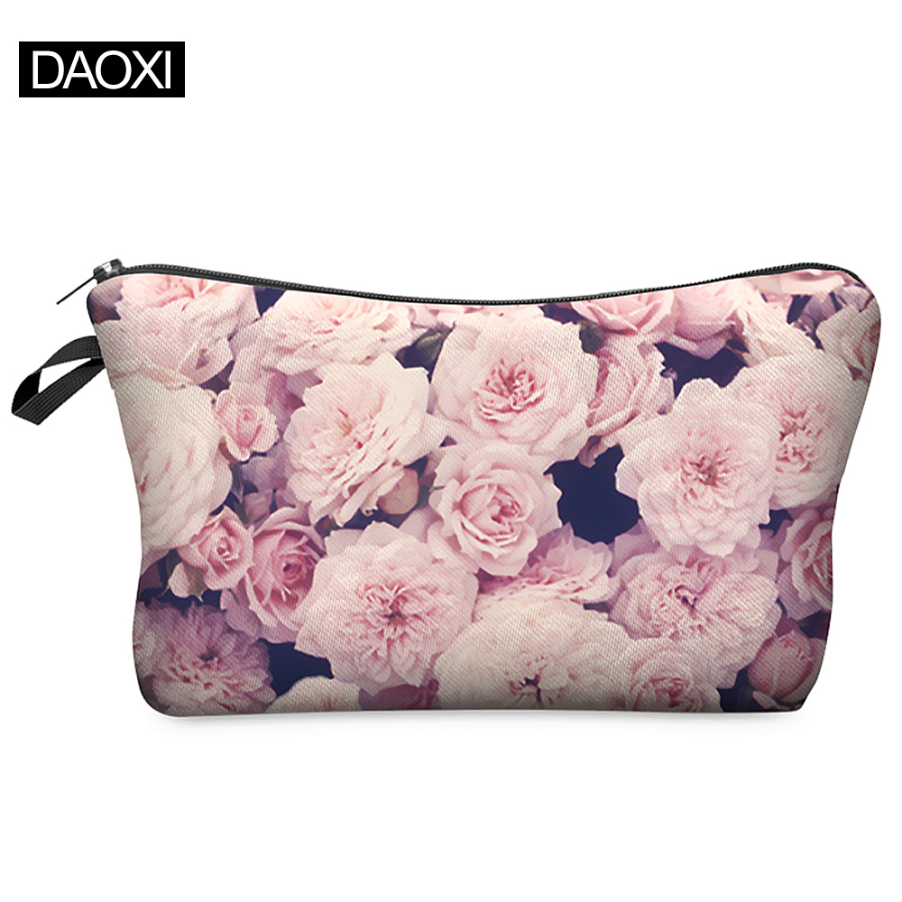 2016 New Fashion 3D Printing Women Makeup Bags With Multicolor Pattern for Traveling easy taking(China (Mainland))