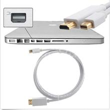 Buy universal 6FT 1.8M Mini Display Port Display Port DP HDMI Adapter Male Male Gold Cable Cord Converter MacBook Pro Air for $3.48 in AliExpress store