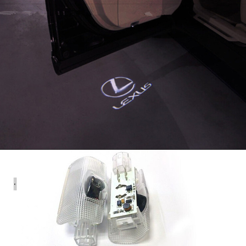 Lexus LED Car door Led Welcome laser projector Logo Ghost Shadow Light ForLEXUS RX300 RX330 RX350 IS250 LX570 is200 is300 ls400(China (Mainland))