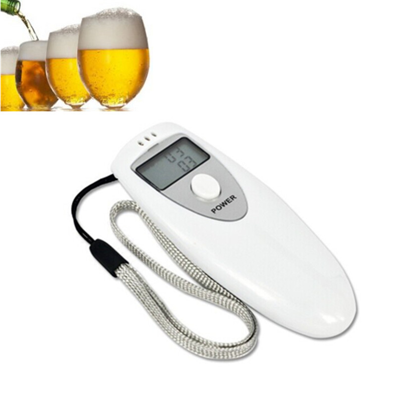 LCD Display Portable Digital Alcohol Breath Tester Professional Breathalyzer Alcohol Meter Analyzer Detector Breathalyzer Test(China (Mainland))