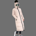 Fashion Winter Jacket Women Altman Modeling Thick X Long Long Sleeve Slim Hooded Down Cotton Padded