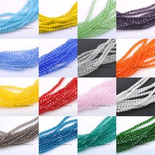 Buy 3mm (About 300Pcs) Faceted Austria Crystal Beads charm Glass Beads Loose Spacer Beads DIY Jewelry Making TRS0138-3 for $1.95 in AliExpress store