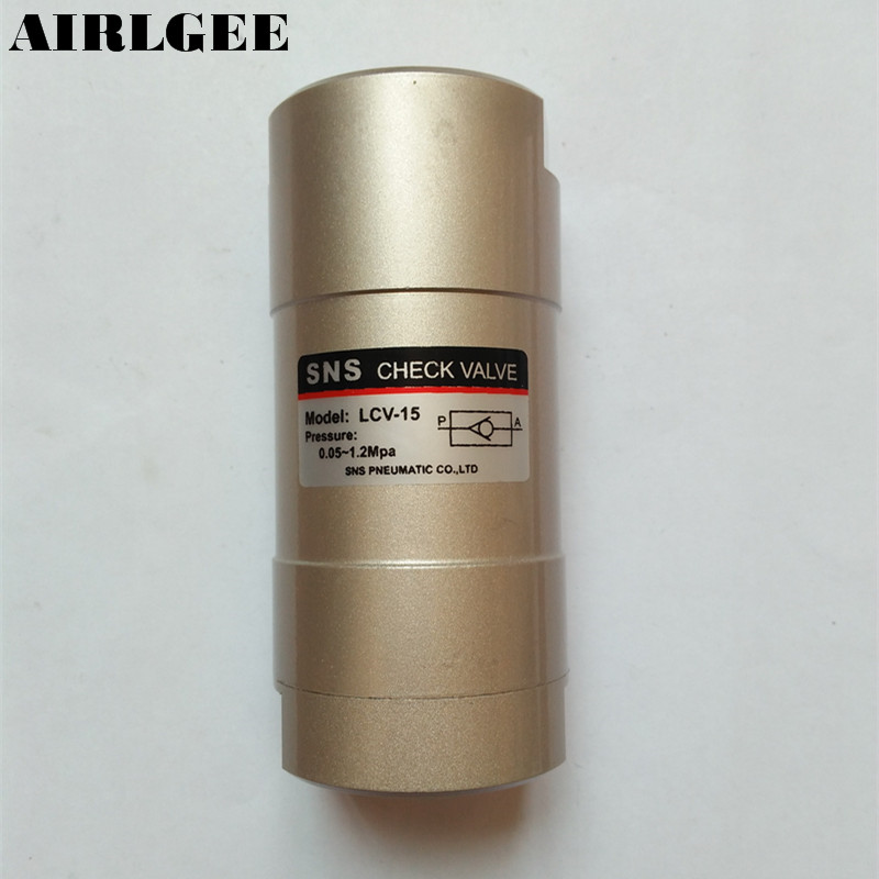 "1/2"" Port Size One Way Air Pneumatic Check Valve LCV-15(China (Mainland))"