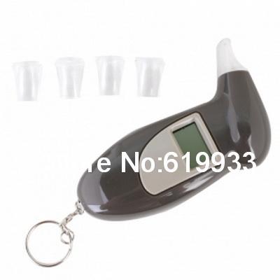 Alcohol Tester Breathalyzer Keychain (0.19 BAC Max)(China (Mainland))