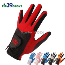 Free Shipping New Fit 39 Golf Gloves Men's Golf Gloves Left Hand Right Hand 1 pcs(China (Mainland))