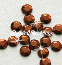 Buy 144 pieces Brown 2mm 6ss ss6 Faceted Hotfix Rhinestuds Iron Round Beads new Aluminium Metal Design Art DIY (u2m-Brown-1 gr) for $3.77 in AliExpress store