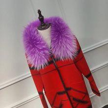 Мода Дикий Горячий шарф шаль зима новый меховой головной убор и воротник настоящий Енот меховой воротник шарф Набор для женщин и мужчин(China)