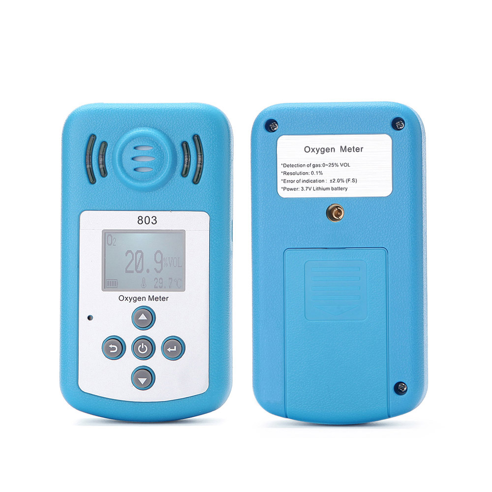 Free shipping Portable Riot control oxygen gas analyzer O2 concentration content measuring instrument detector tester wholesale(China (Mainland))