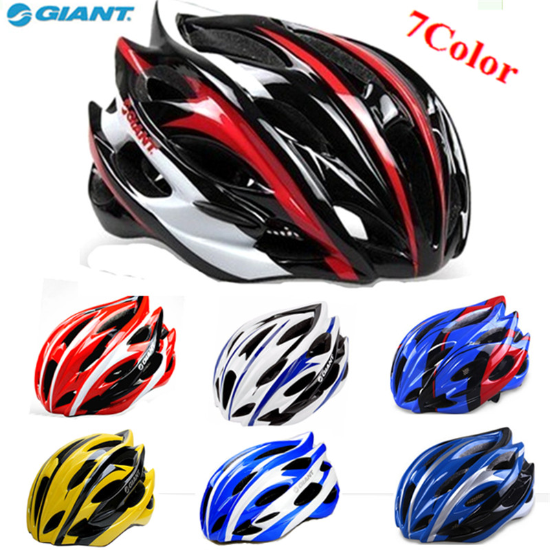 2014 New Free Shipping Fashion Road Cycling Mountain Bike Bicycle 24-Hole Forming One Adult Safety Helmet 56cm-62cm-Black-Red