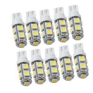 DC 12V 9SMD Led Lights T10 5050 Auto Car Side Wedge Tail Lights Turn Signal Lamp Bulb Hot Selling(China (Mainland))