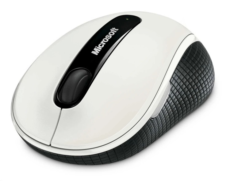 Brand New Microsoft 4000 USB 2.4GHz Bluetrack Wireless Mobile Mouse For Windows(China (Mainland))